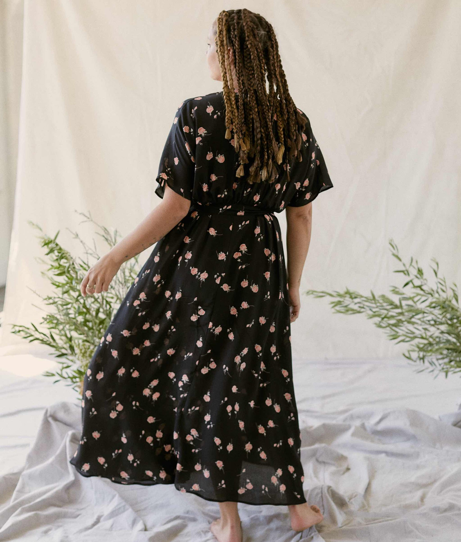 The Lottie Dress | Coral Bloom