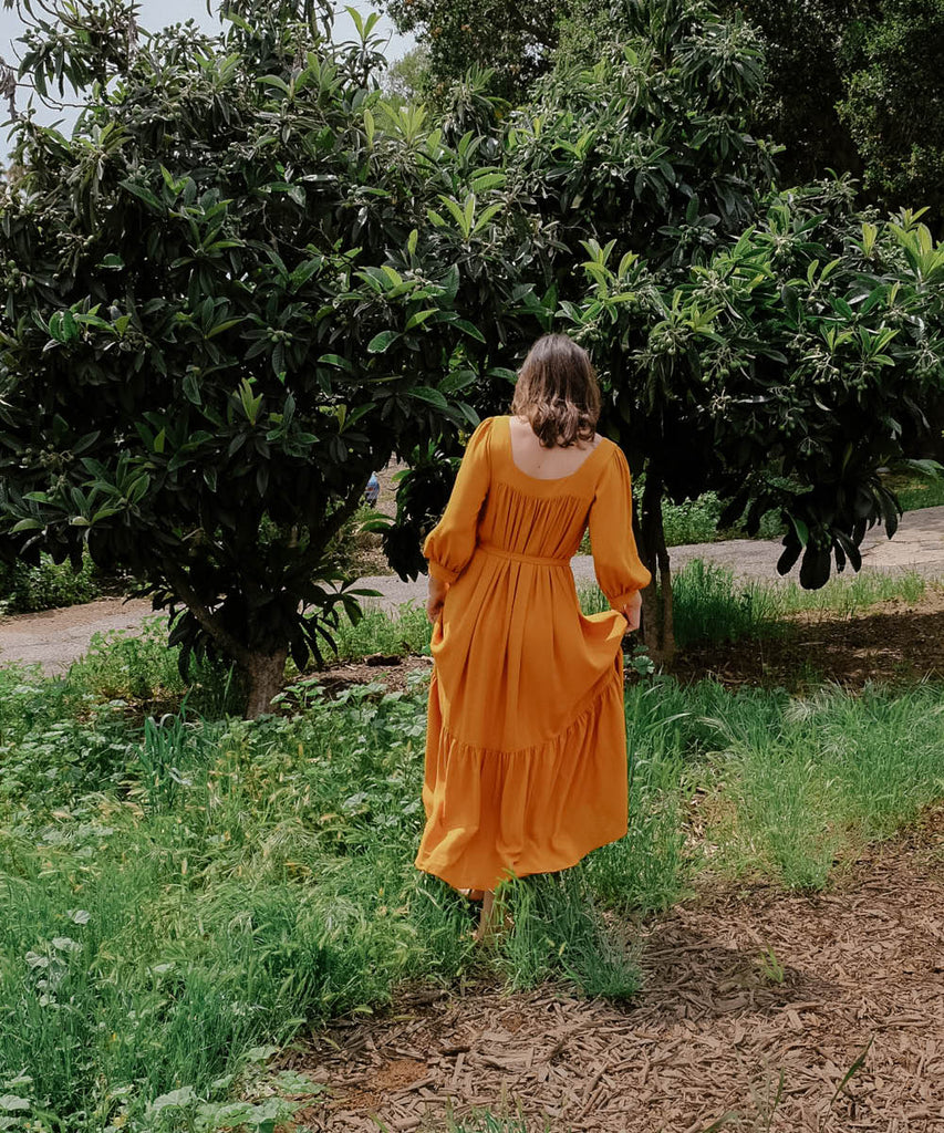 The Bianca Dress | Turmeric image 8
