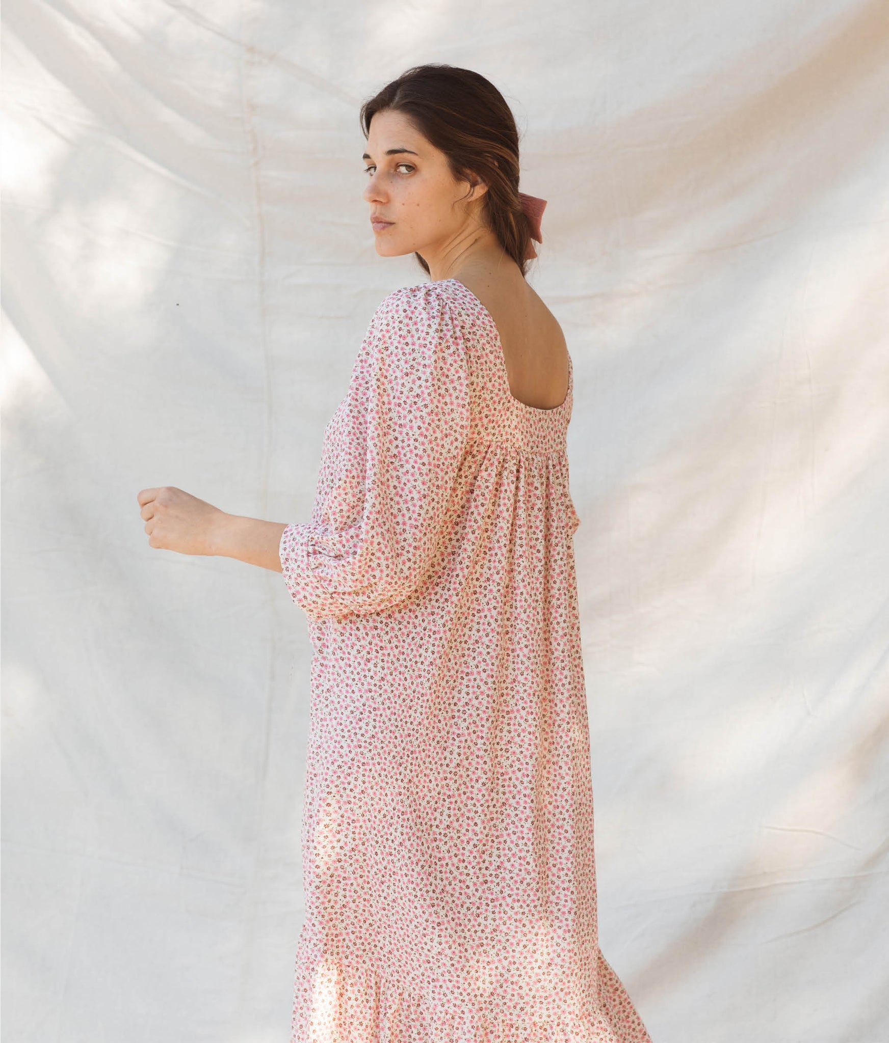 The Bianca Dress | Rose Wildflower