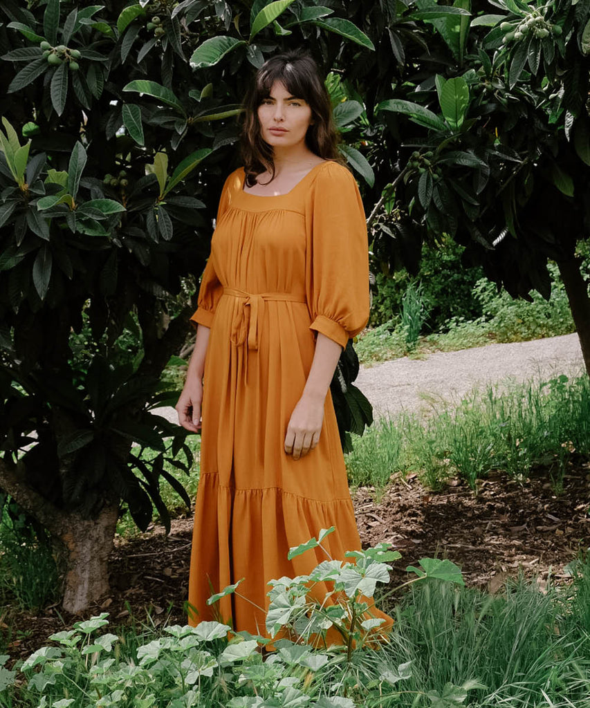 The Bianca Dress | Turmeric image 4