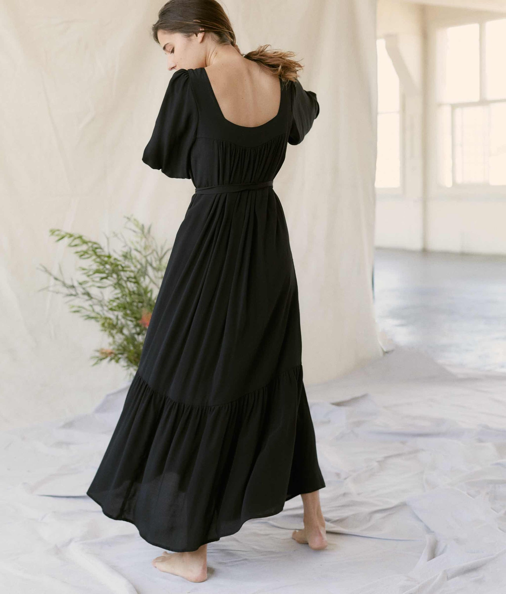 The Bianca Dress | Noir
