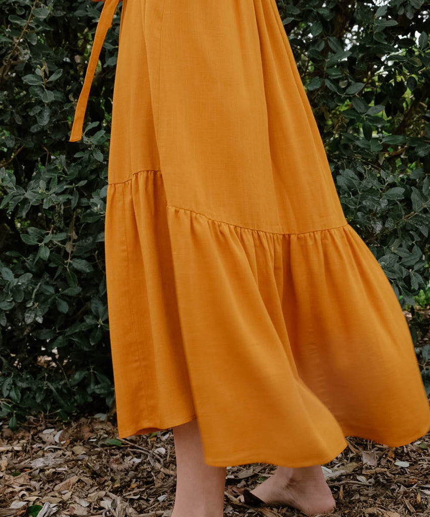 The Bianca Dress | Turmeric image 14