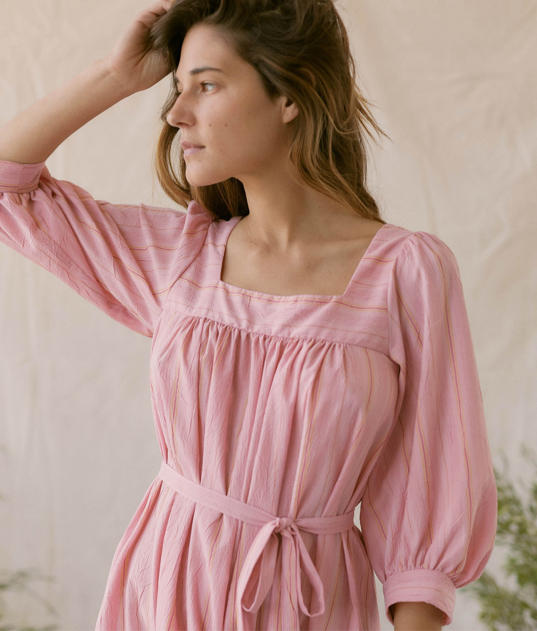 The Bianca Dress | Aster Stripe