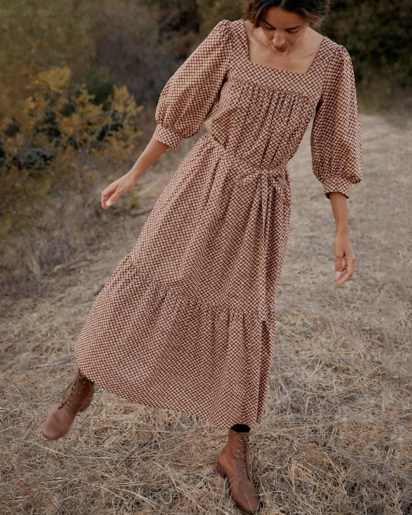 The Bianca Dress | Clay Anemone Field