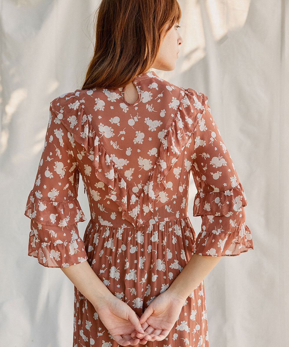 The Bijou Dress | Clay Floral
