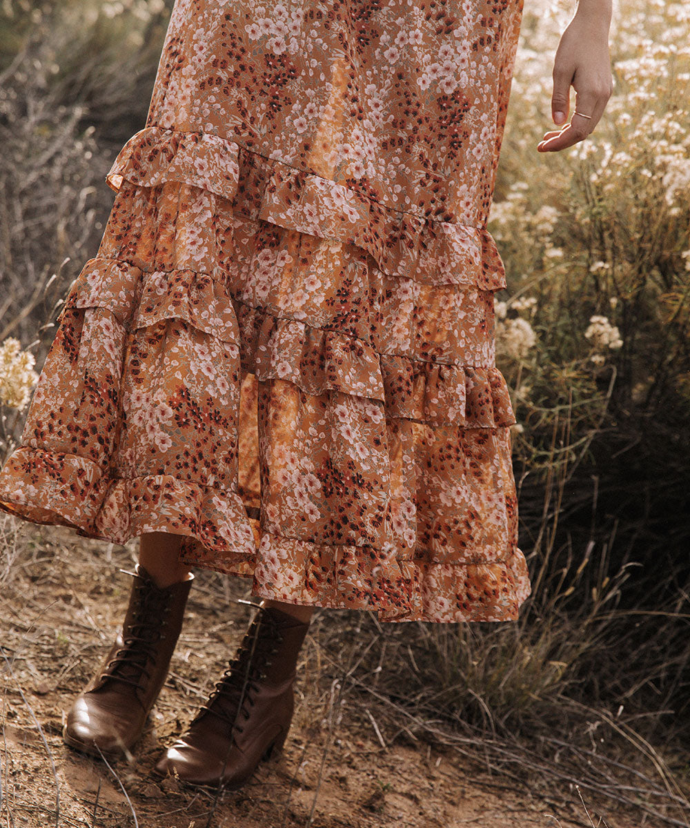The Bijou Dress | Rust Garden