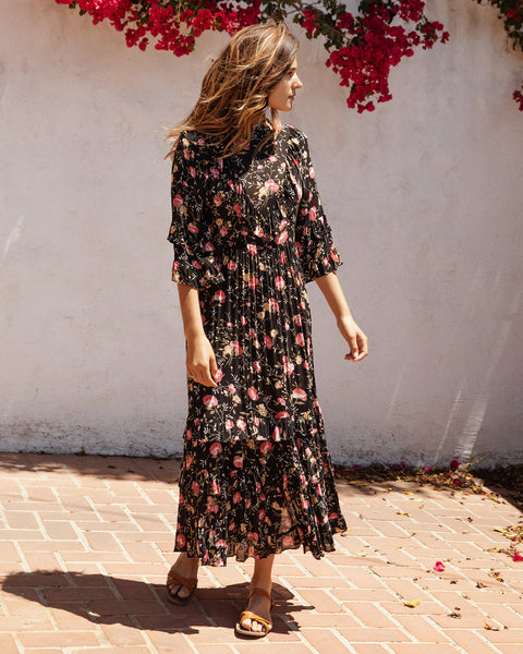 The Bijou Dress | Night Chintz