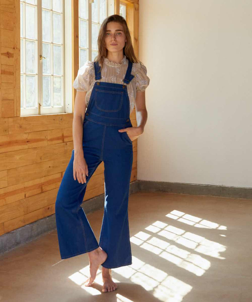 The Billy Overall | Cobalt Blue Denim
