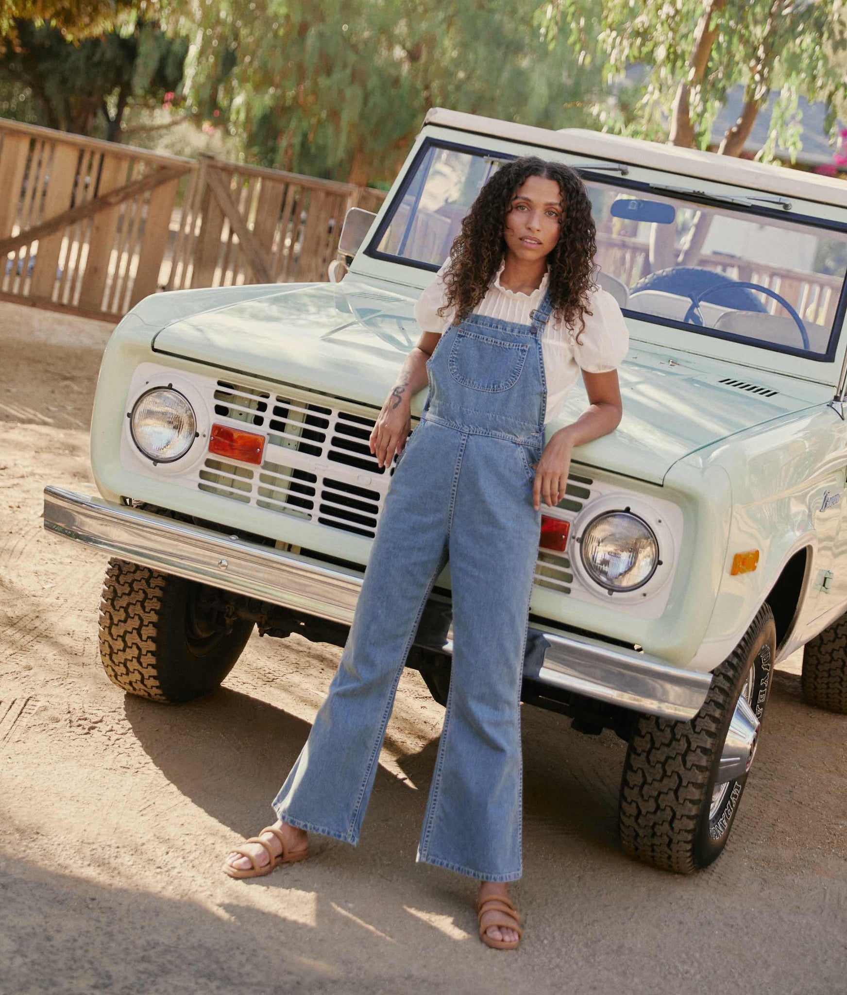 The Billy Overall | Moon Wash Denim
