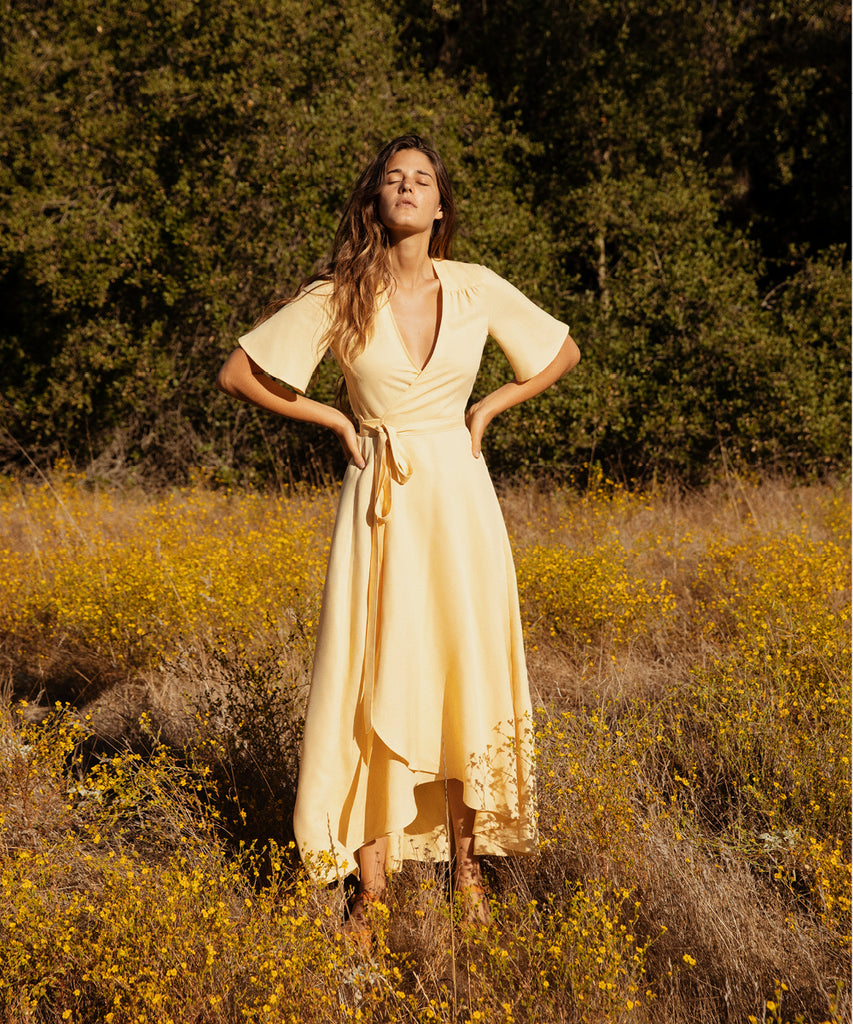 The Bluebell Dress | Butterscotch Linen
