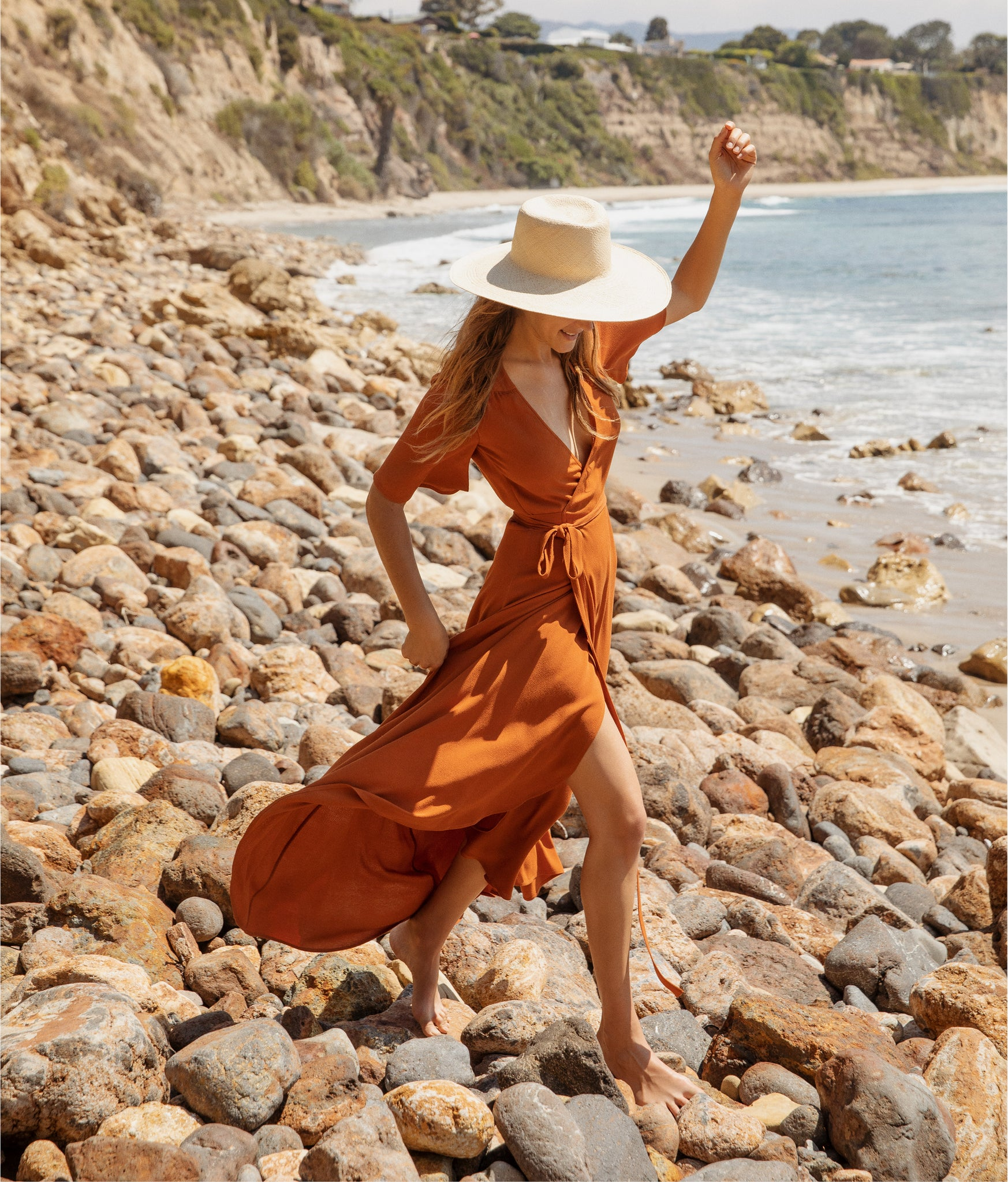 The Bluebell Dress | Rust