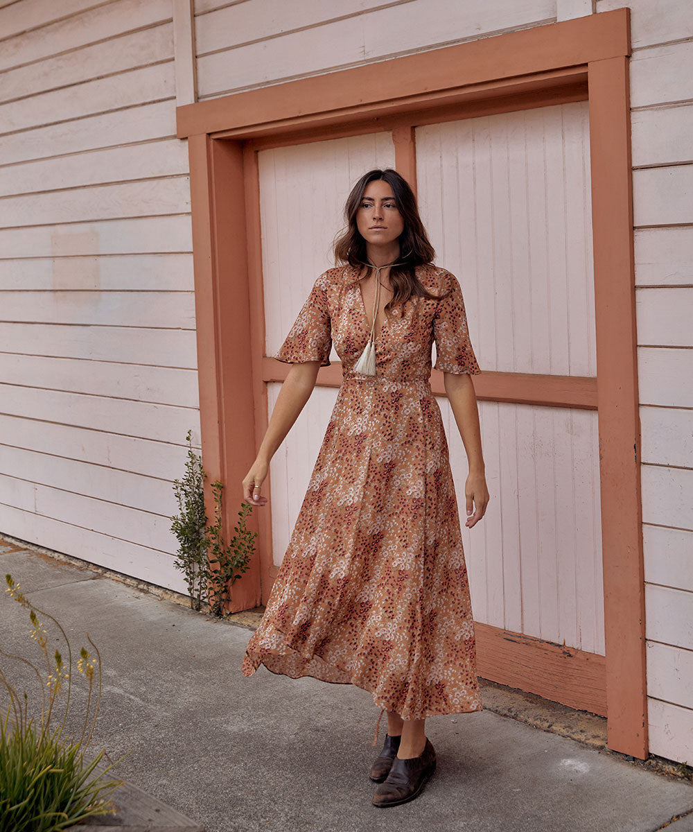 The Bluebell Dress | Rust Garden