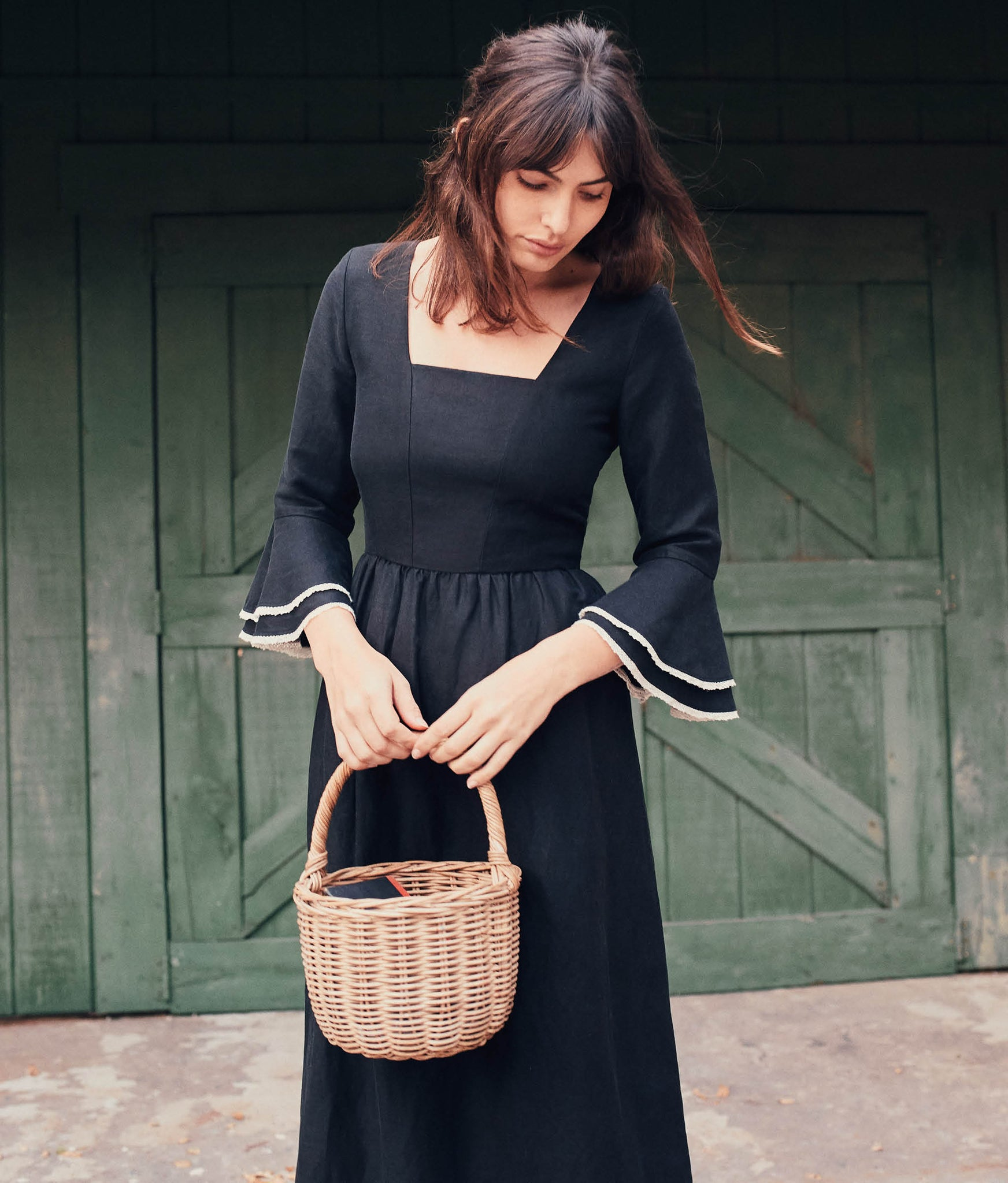 The Blythe Dress | Noir Linen
