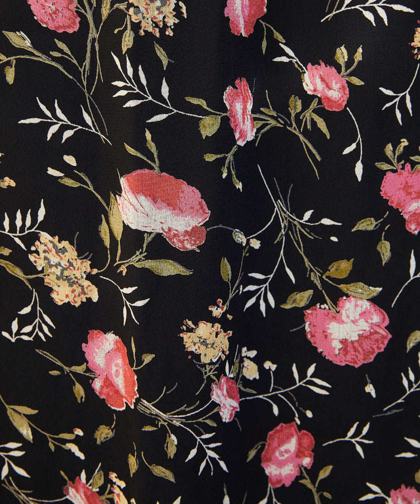 The Camille Dress | Night Chintz image 10