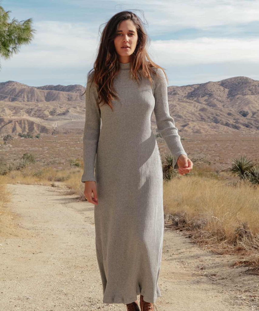 The Charlie Dress | Marled Grey