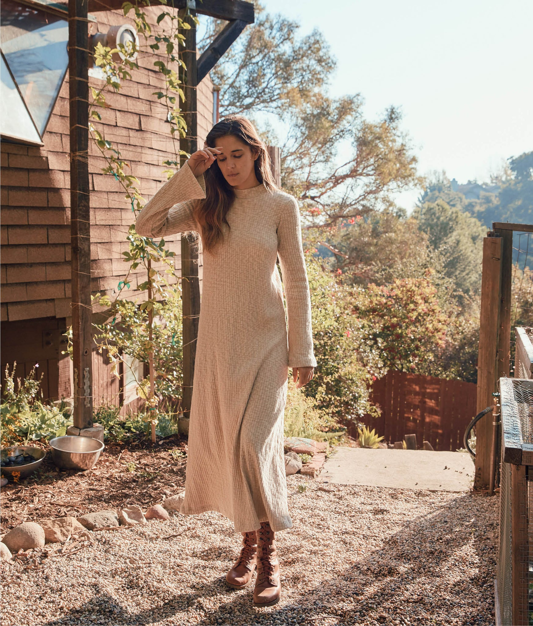 The Charlie Dress | Oatmeal
