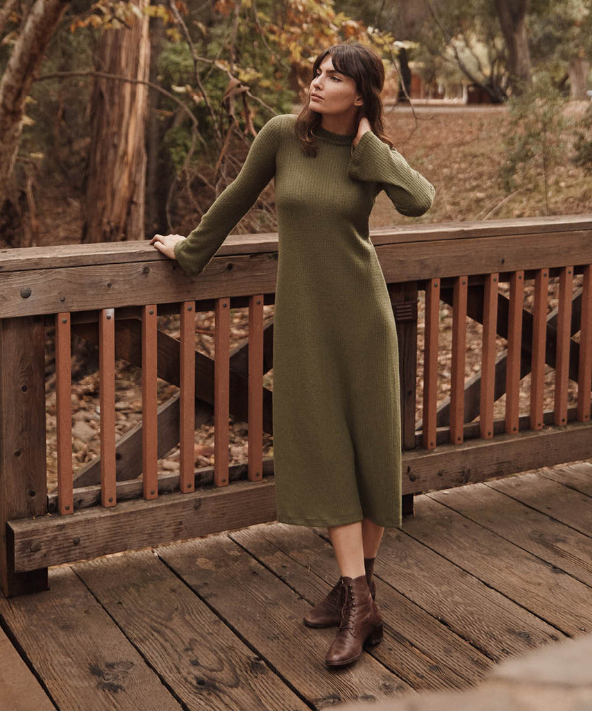 The Charlie Dress | Moss image 3