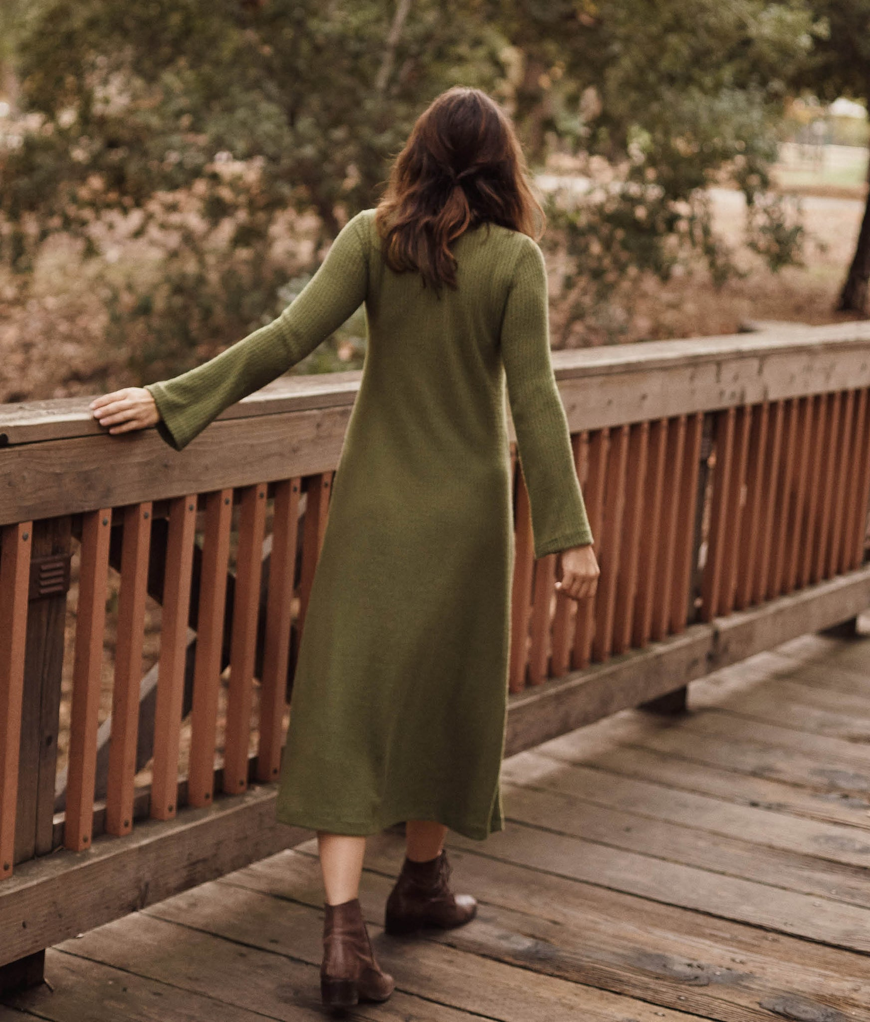 The Charlie Dress | Moss