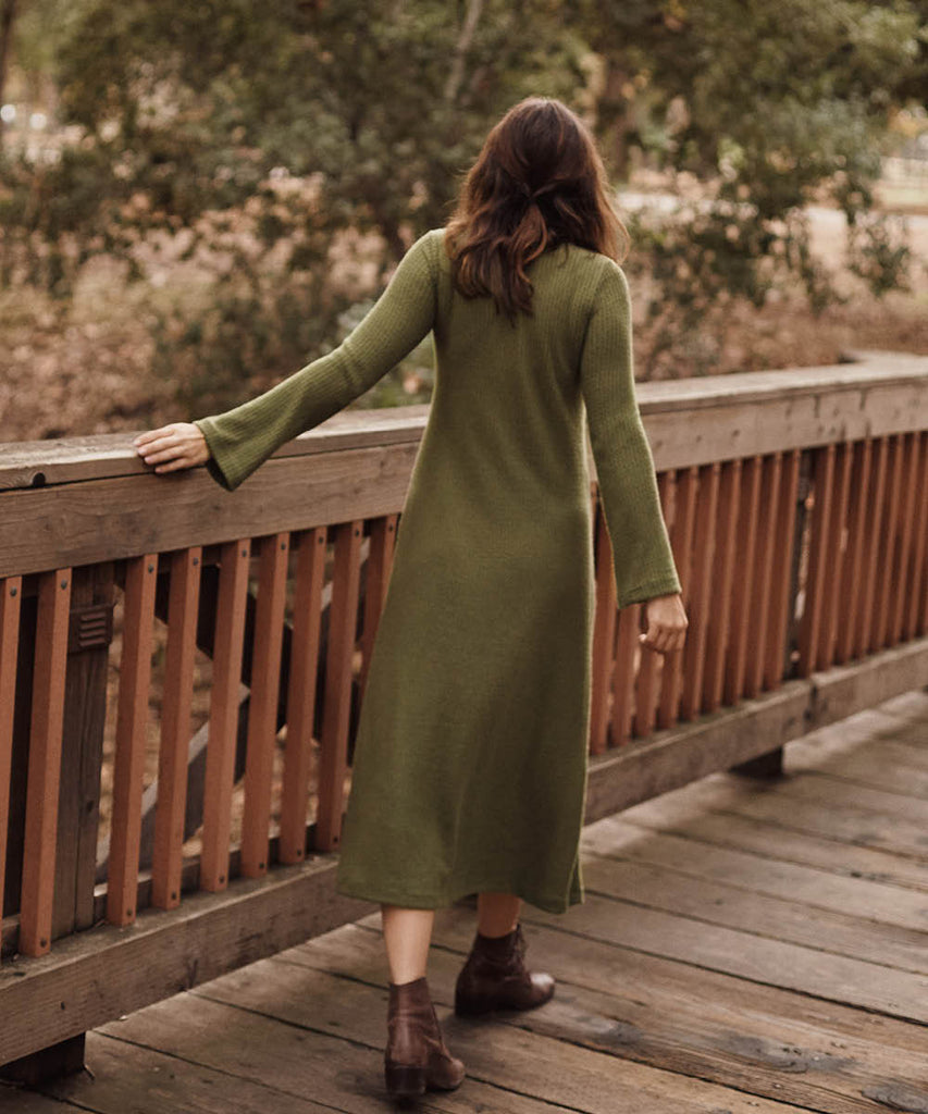 The Charlie Dress | Moss image 12