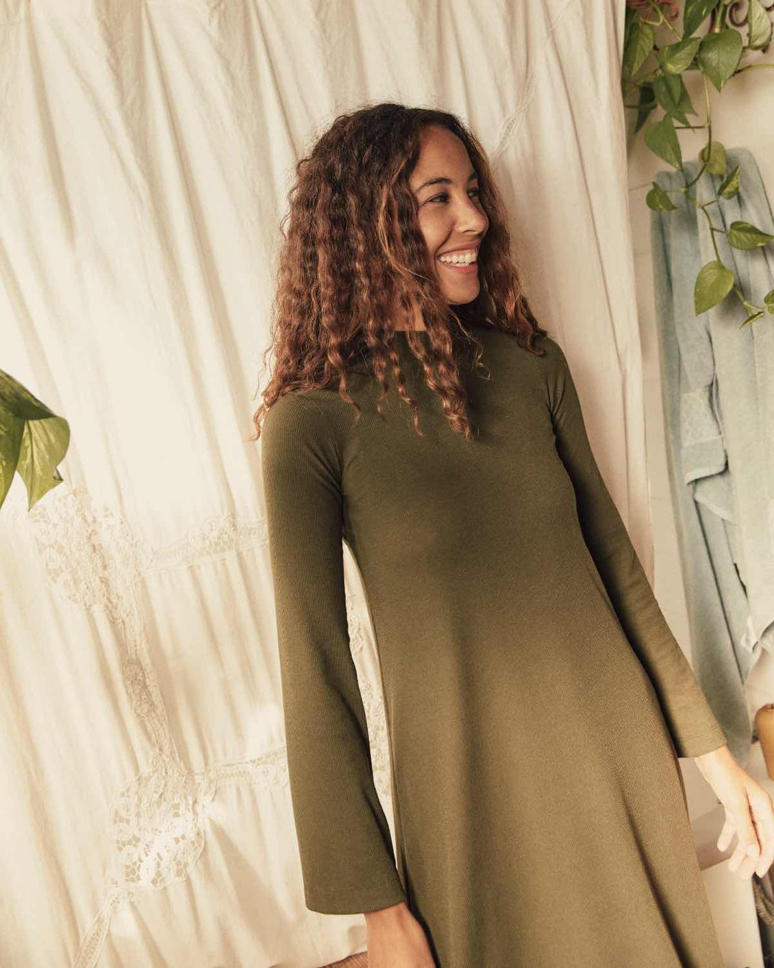 The Charlie Dress | Eucalyptus