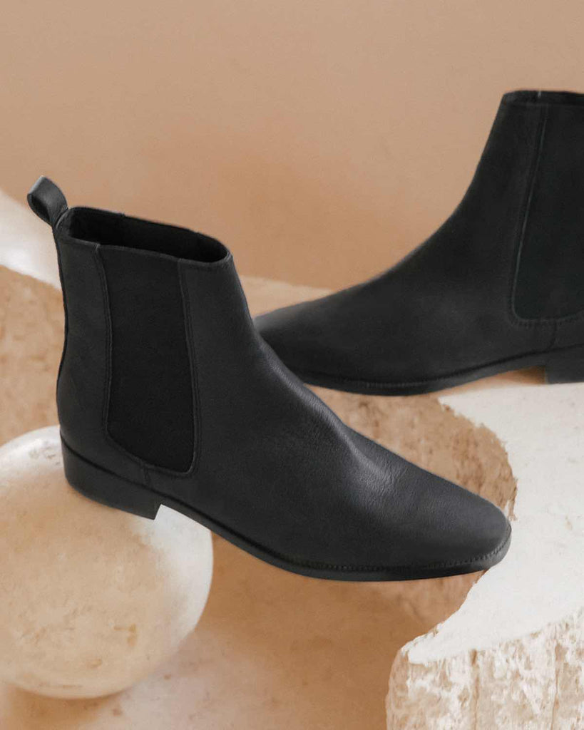 The Chelsea Boot | Noir Leather