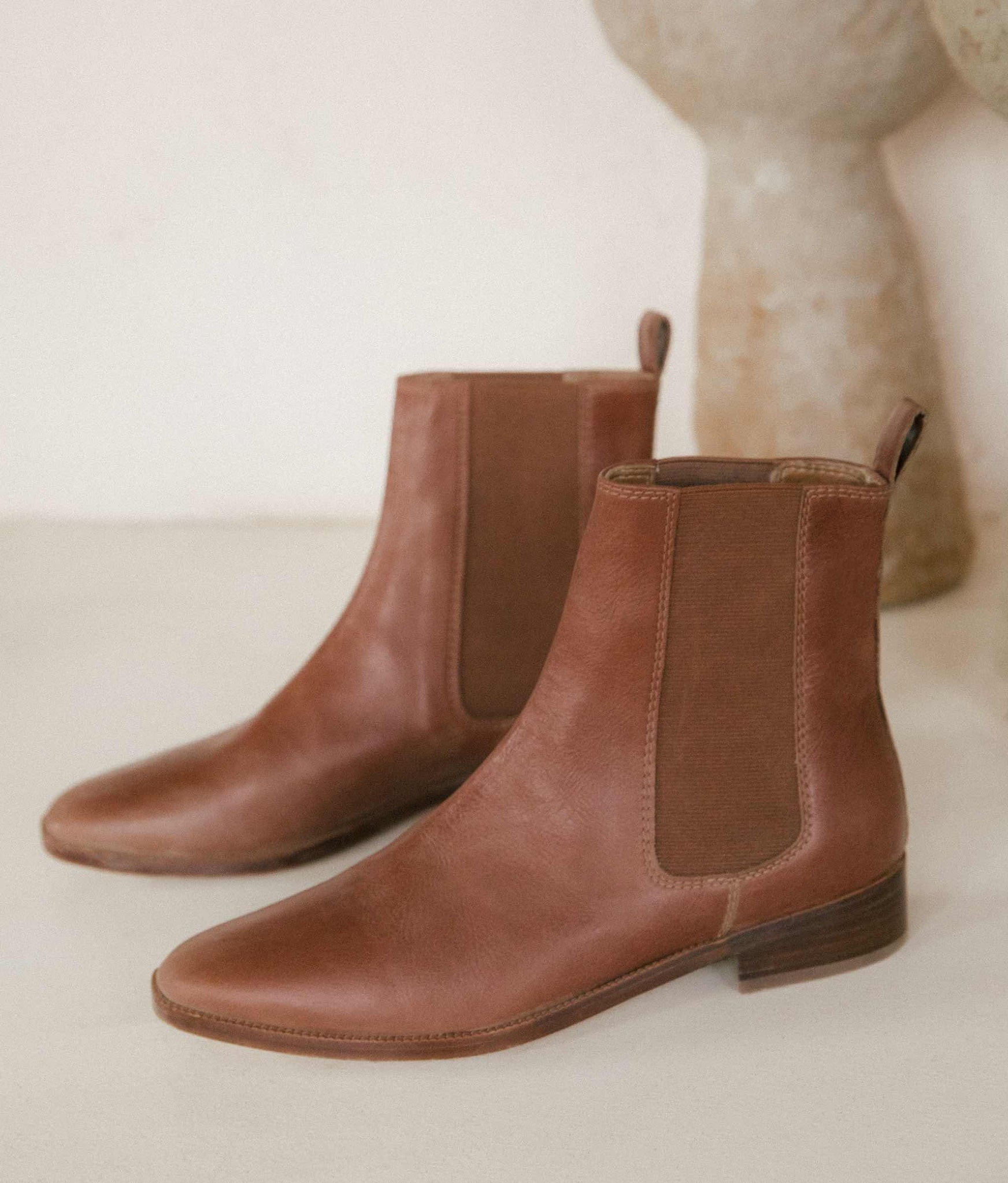 The Chelsea Boot | Hazelnut Leather