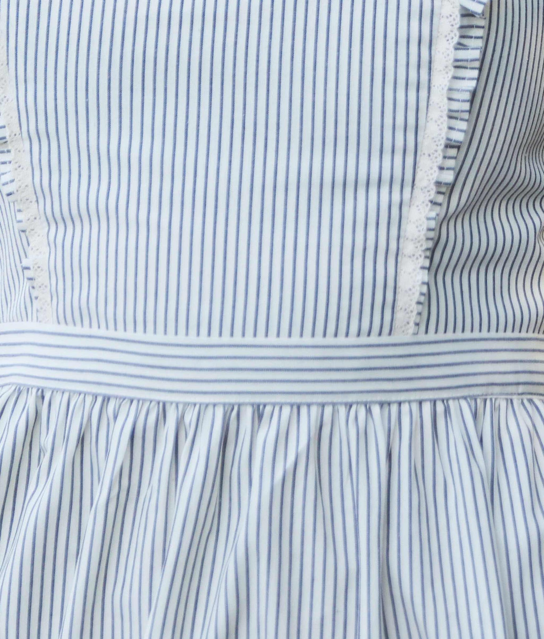 The Claire Dress | Smoke Stripe (Imperfect)