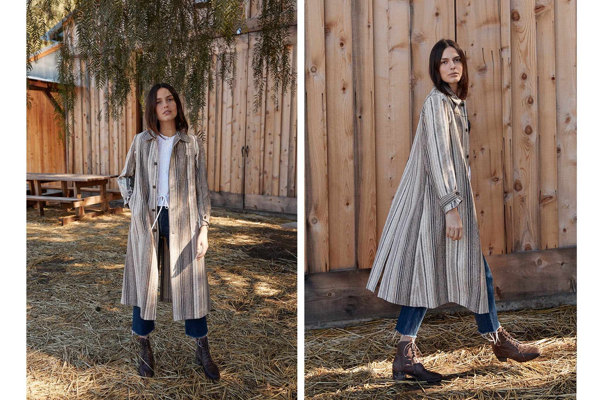 The Clara Coat | Terra Agate