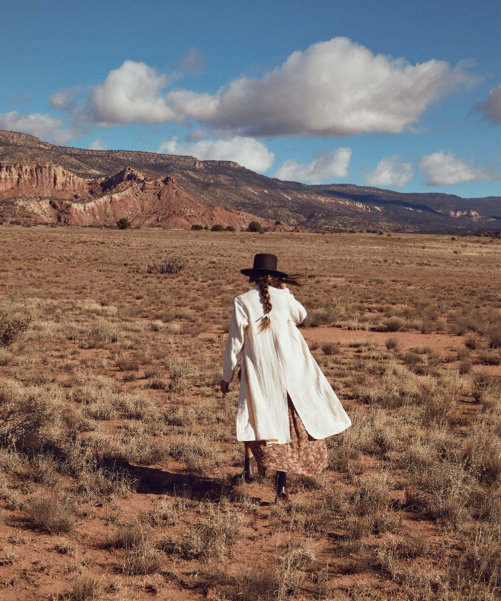 The Clara Coat | Sandstone