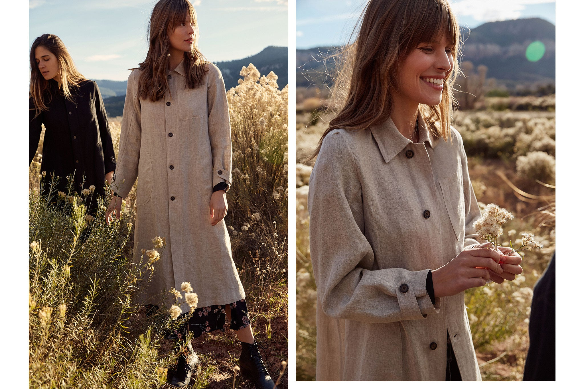 The Clara Coat | Natural