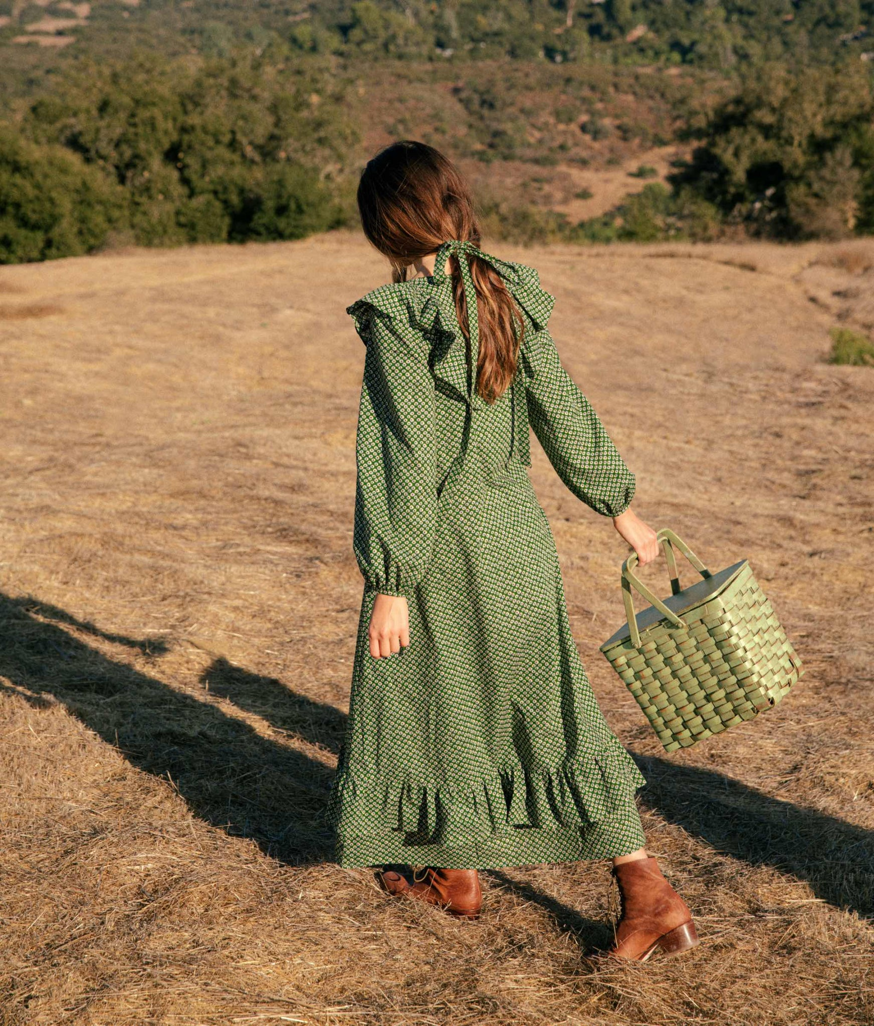 The Conley Dress | Linden Anemone Field