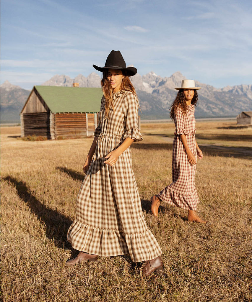 The Constance Dress | Currant Plaid image 13