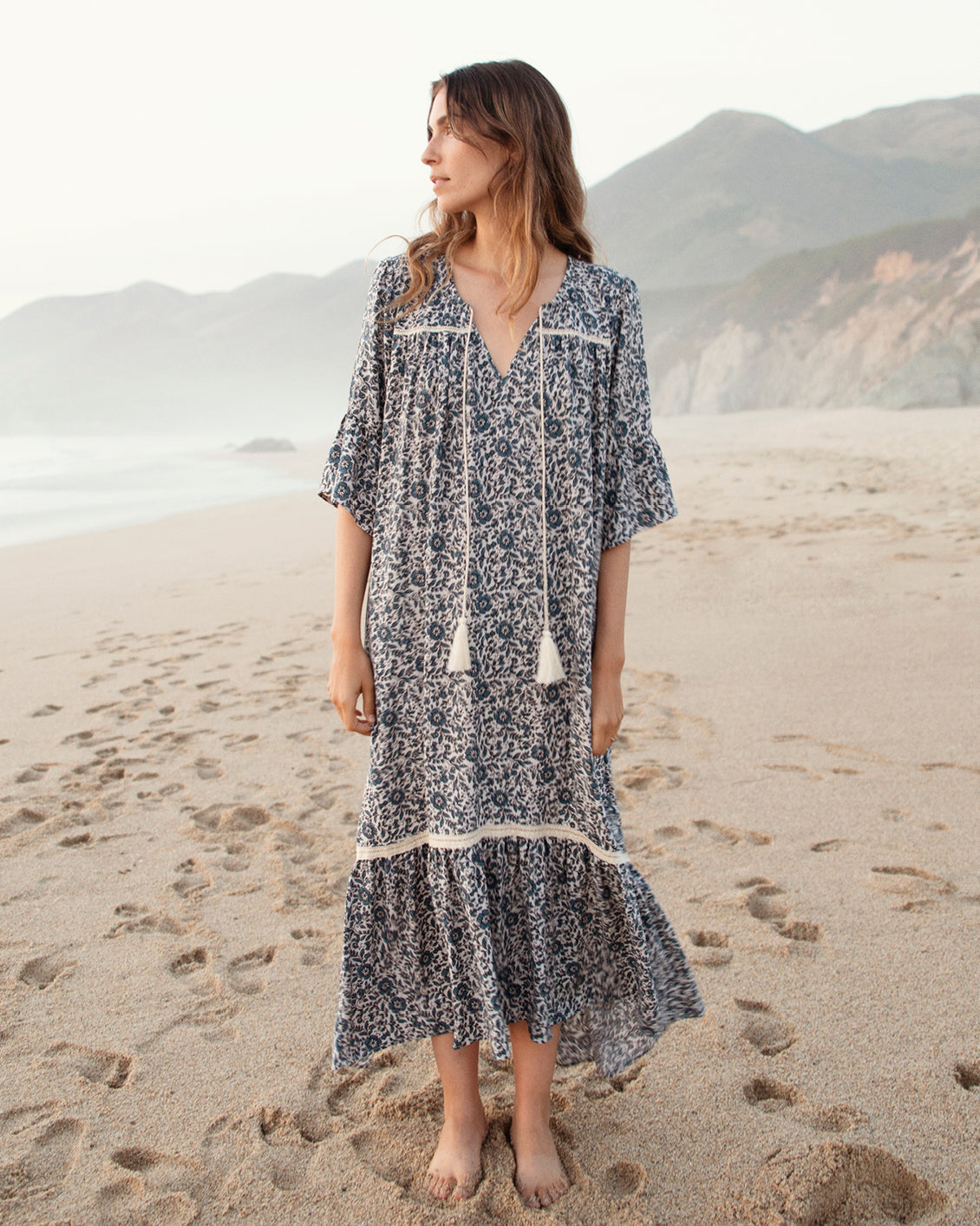 The Corley Dress | Shibori Vine