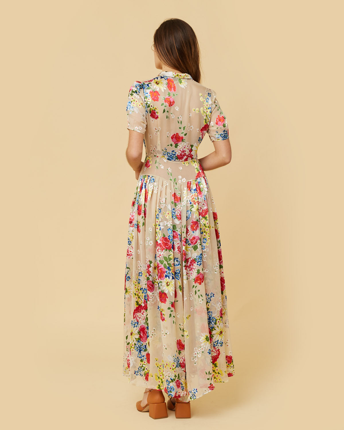 The Winslet Dress | Silk Floral
