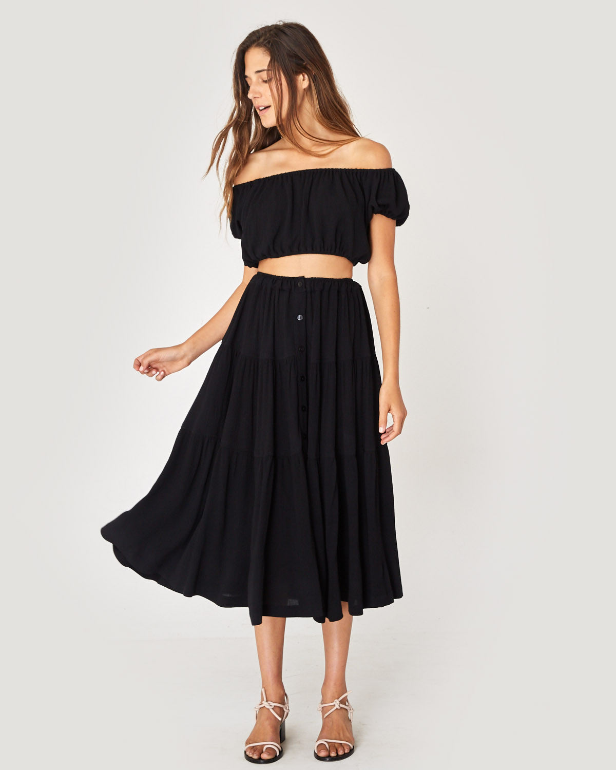 The Margot Two Piece | Black