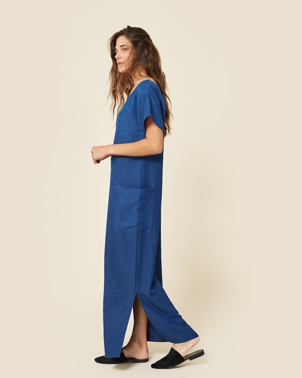 The Seaton Dress | Midnight Blue