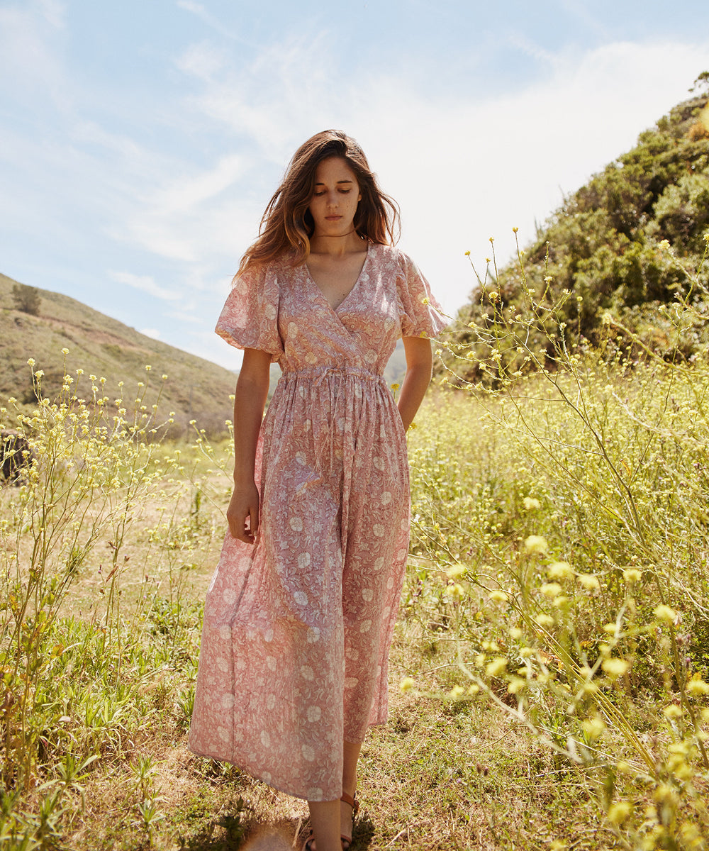 The Dahlia Dress | Blush Thistle (PRE-ORDER)