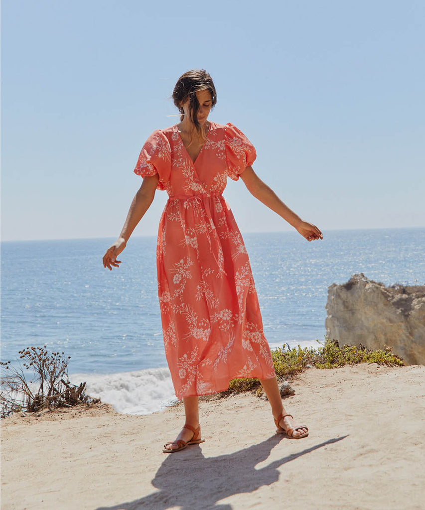 The Dahlia Dress | Coral Meadow