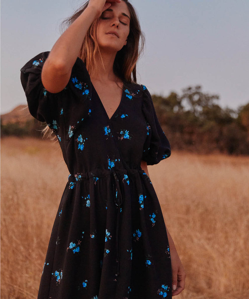 The Dahlia Dress | Petit Bleu (1-of-a-kind!) image 6