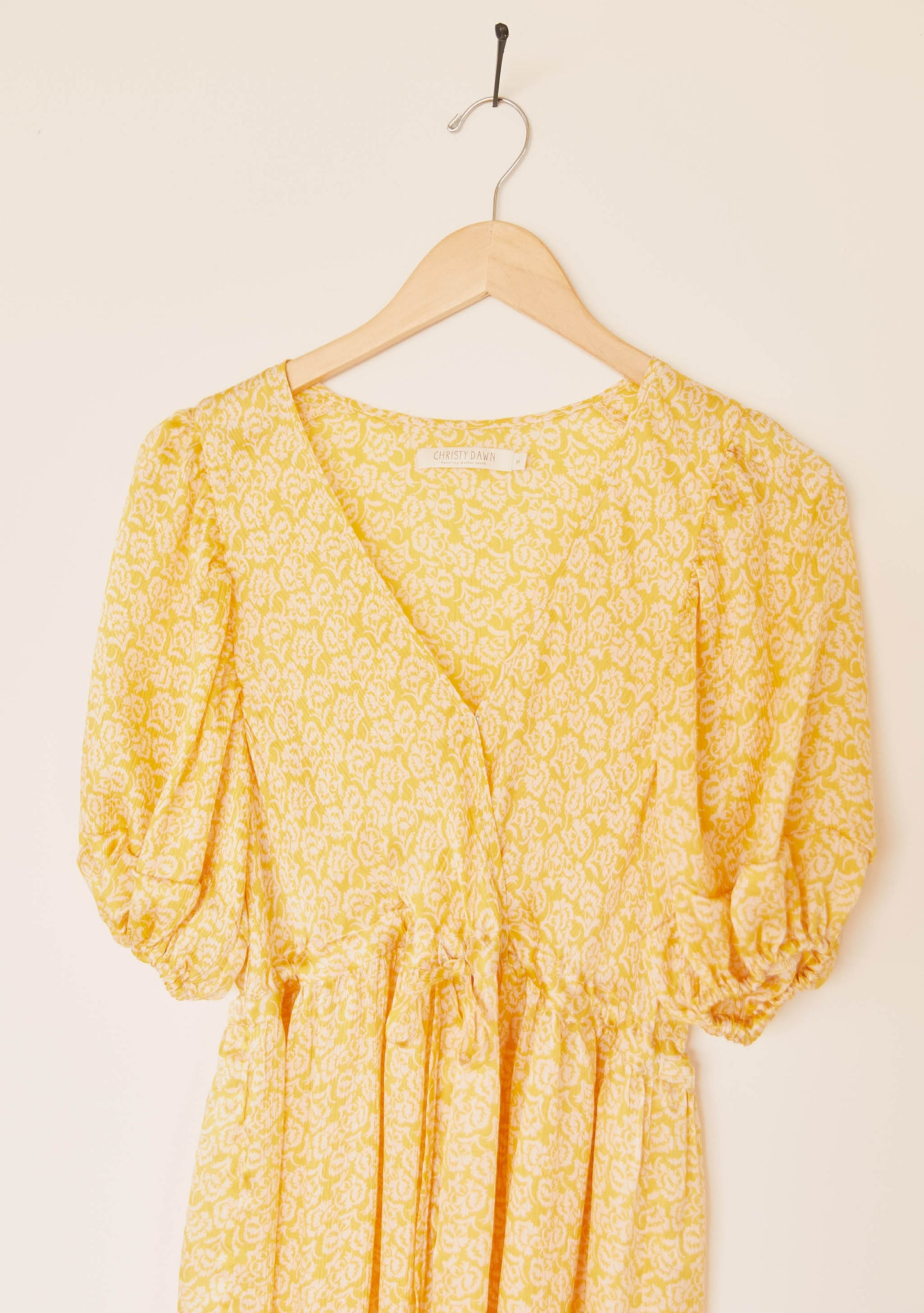 The Dahlia Dress | Sunshine Thistle Silk