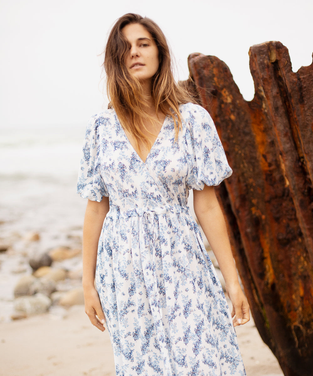 The Dahlia Dress | Agapanthus Spray