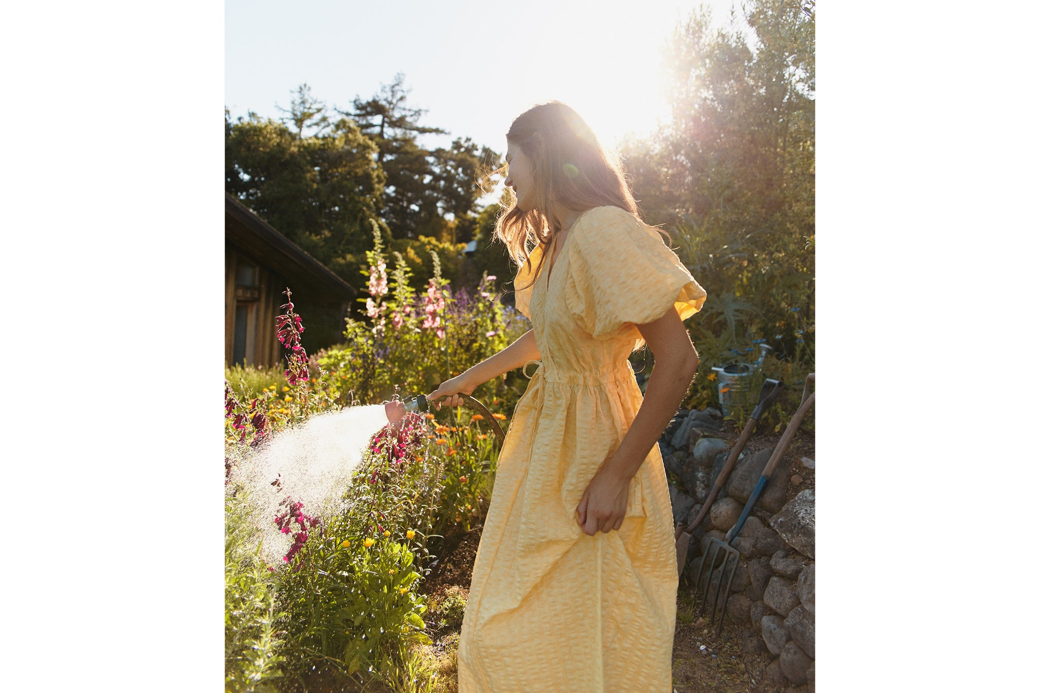 The Dahlia Dress | Canary