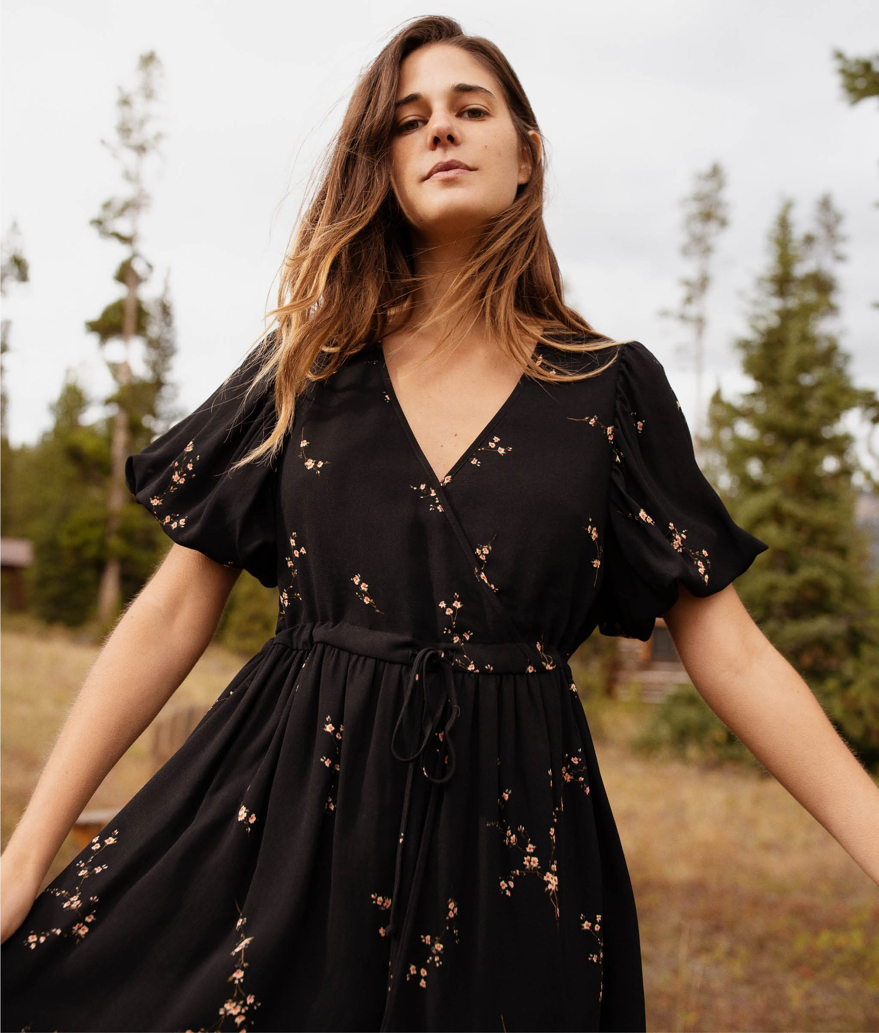 The Dahlia Dress | Pear Blossom