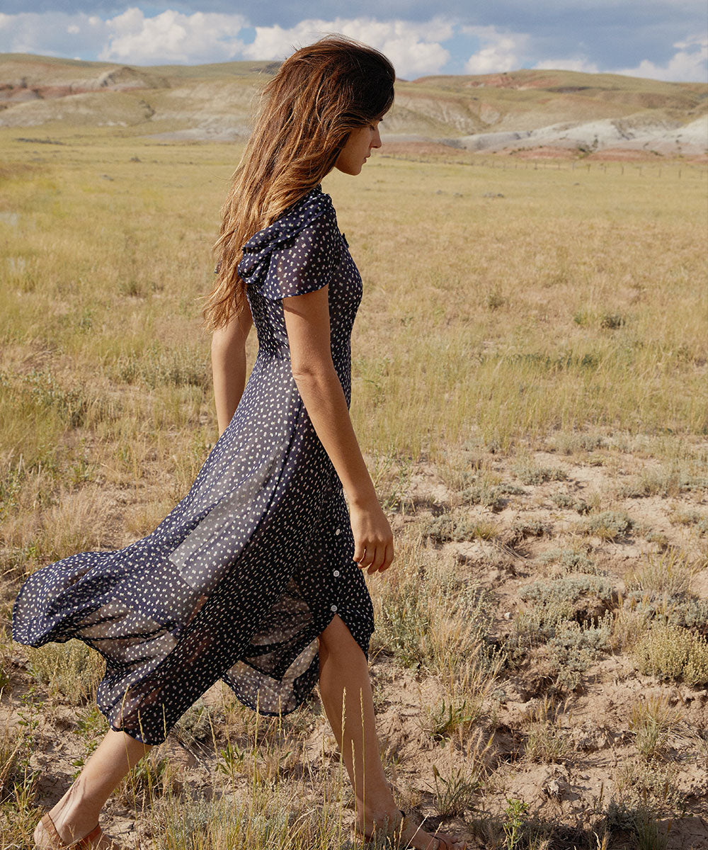 The Daisy Dress | Midnight Ditsy