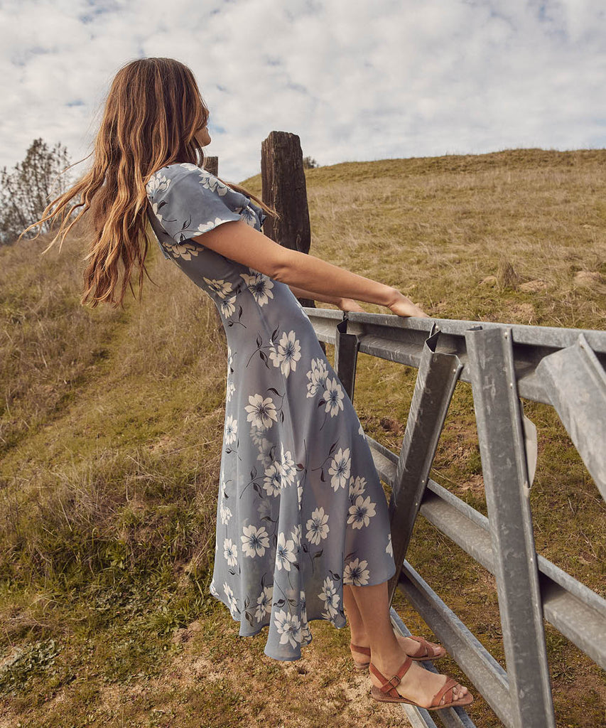 The Daisy Dress | Floral Mist image 6