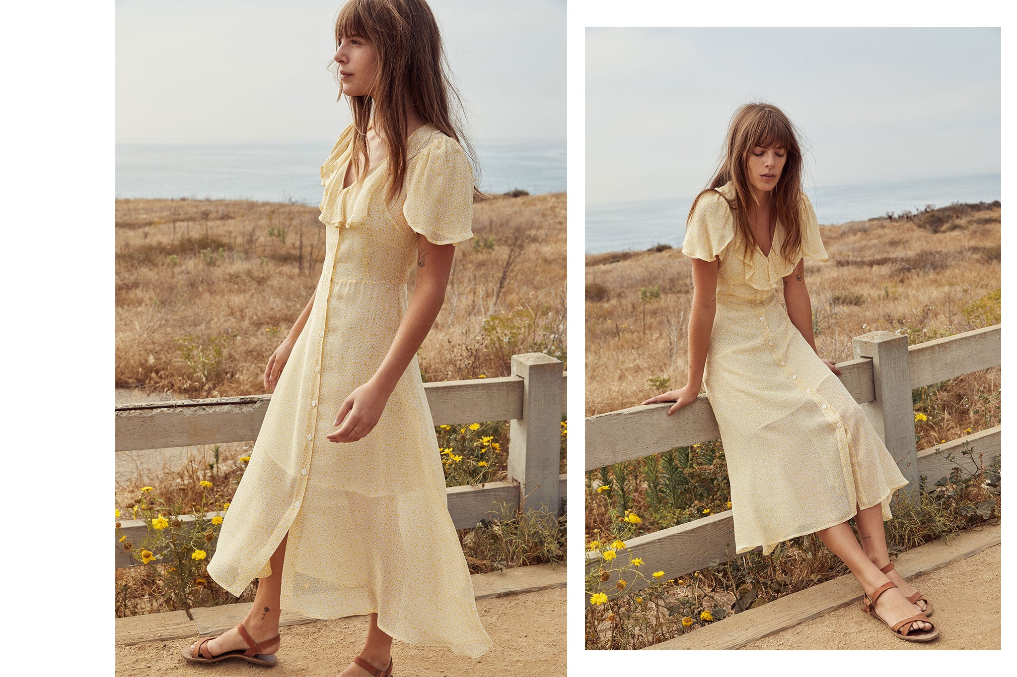 The Daisy Dress | Lemon Meadow