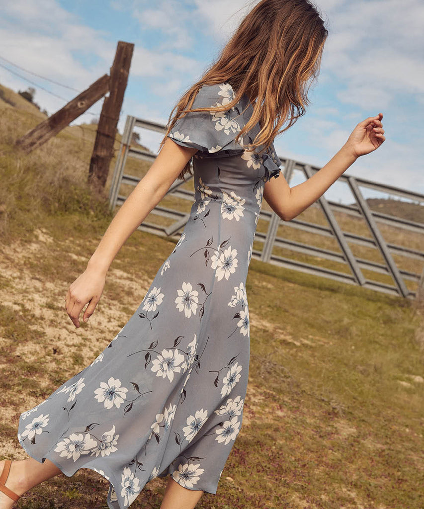 The Daisy Dress | Floral Mist