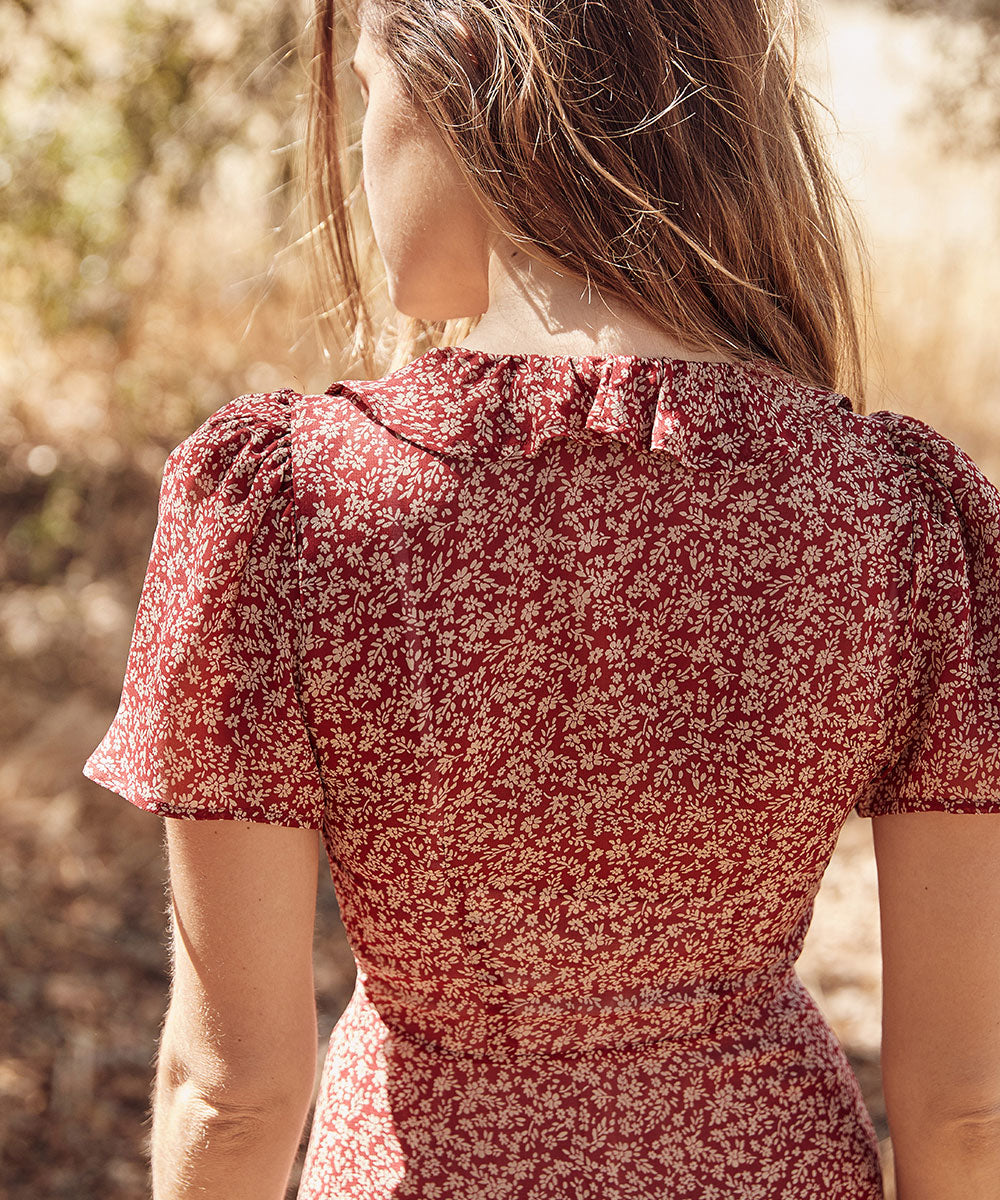 The Daisy Dress | Oxblood Meadow