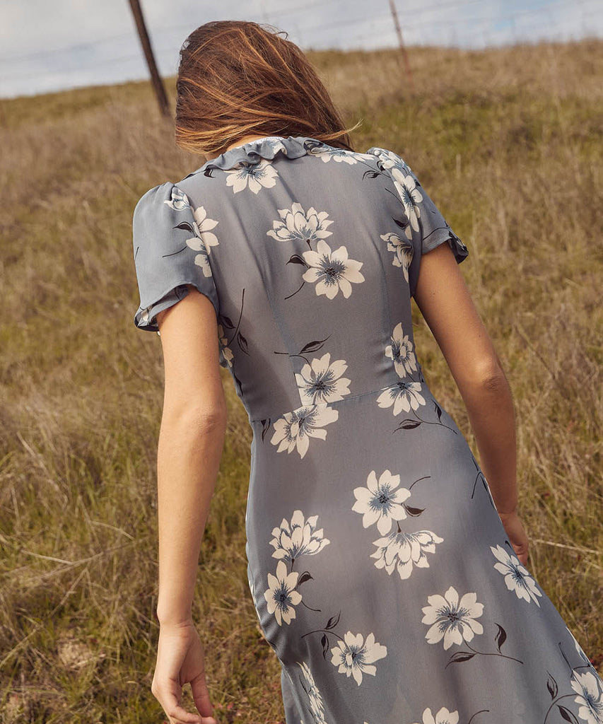 The Daisy Dress | Floral Mist image 12