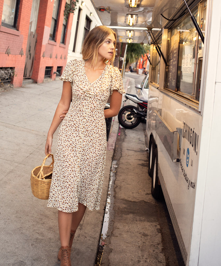 The Daisy Dress | Autumn Breeze image 13